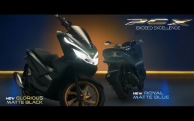 Honda PCX With New Colors