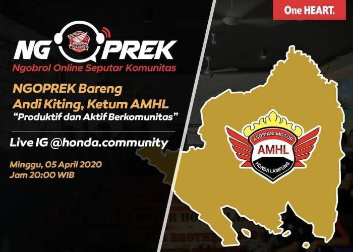 Honda Community Ajak AMHL Ngoprek Bareng