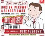 Honda Anper Servis kunjung, servis & oli gratis untuk tenaga medis.