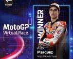 Ternyata Ada Peran Orang Indonesia Dibalik Kemenangan Alex Marquez Dalam Virtual Race