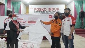 Ikatan Motor Honda Makassar Berikan Donasi APD Untuk Tenaga Kesehatan