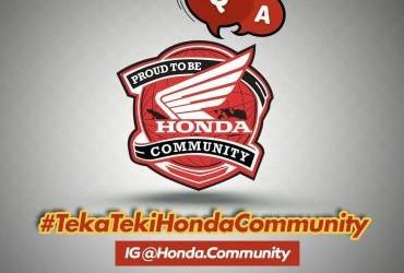 Teka Teki Honda Community