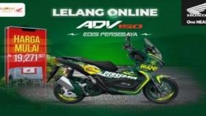 Lelang Honda ADV150 Modif Spesial Persebaya