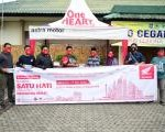 Komunitas Honda di Lombok Donasikan APD dan Masker Medis