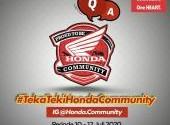 Teka Teki Honda Community - Part 2