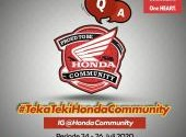 Teka Teki Honda Community - Part 3