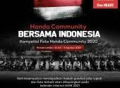 Kompetisi Foto Honda Community Bersama Indonesia 2020