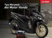 Tips Merawat Aki Pada Motor Honda