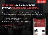 HCID Apps Bagi-bagi Poin di Hari Pelanggan Nasional