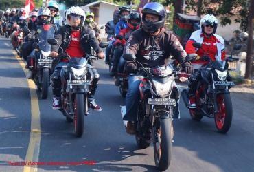 Paguyuban IMHJB Pemersatu Bikers Honda di Jawa Barat