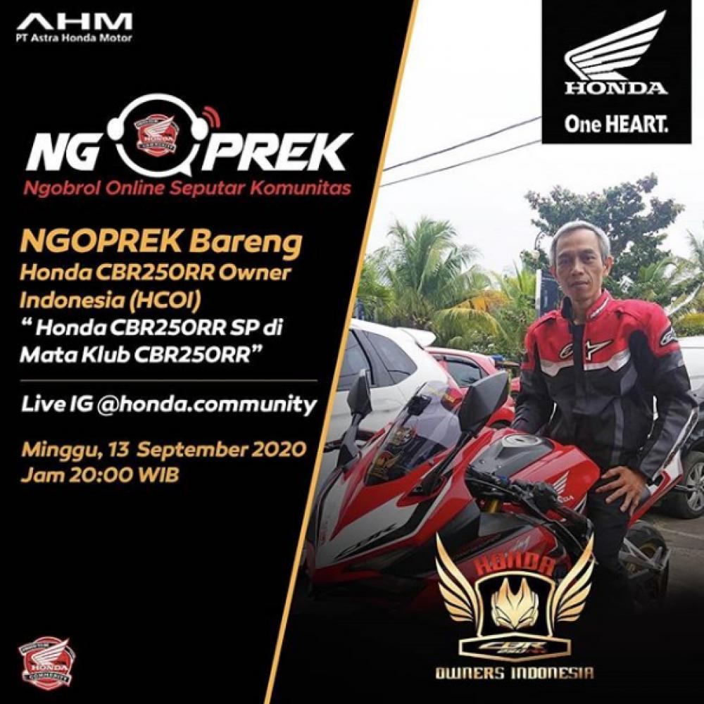 Ngoprek Bareng Honda CBR250RR Owner Indonesia (HCOI)