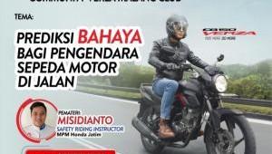 Hadapi Pesepeda Di Jalan Raya Pada Webinar Safety Riding For Verza Malang Club