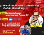 Webinar Honda Community Public Speaking