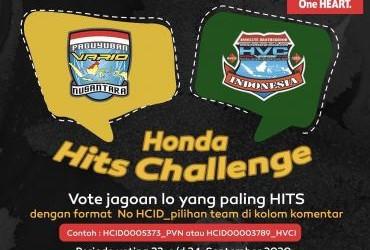 Honda Hits Challenge PVN dan HVCI