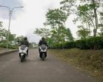 Pengendara motor perlu perhatikan Etika Berkendara saat di jalan