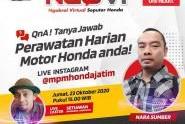 NGOVI, Tanya Jawab Perawatan Harian Motor Honda Anda