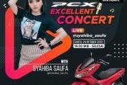 Ayo Rek nyanyi bareng di PCX Excellent Concert