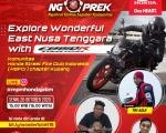 Explore Wonderful East Nusa Tenggara With CB150R Bersama Komunitas HSFCI Kupang