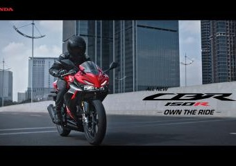 All New Honda CBR150R – Own The Ride