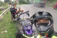 Day 2 #ToruingKemanusiaan Sampai Waleri Jawa Tengah dan Masuk Jawa Timur Bertemu Dengan Goweser Goes