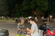 Honda ADV Banten Night Ride Dan Berbagi Untuk Sesama