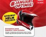 Menangkan Giveaway Helm keren dari Aplikasi Brompit