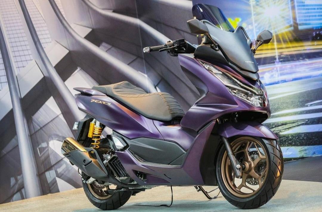 All New Honda PCX Custom Bike - Premium Luxury