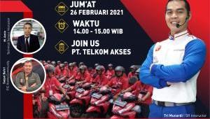 TDM Gelar Webinar SR bersama PT. Telkom Akses