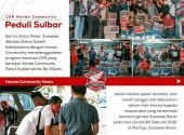 CSR Honda Community Peduli Sulbar