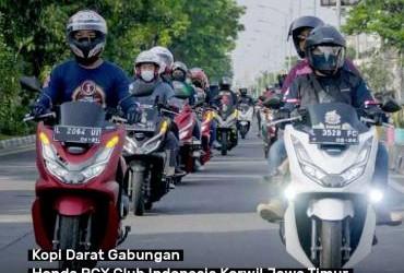 Kopi Darat Gabungan Honda PCX Club Indonesia Korwil Jawa Timur