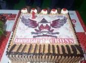 Perayaan HUT Pertama CRON'S (CBR Riders Owners Serang)