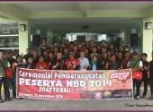 Ceremonial Pemberangkatan HBD 2014