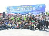 Lomba Safety Riding Polrestabes Surabaya