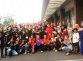 Aksi Sosial Bagi-Bagi Takjil CBR Brotherhood Utara di Kelapa Gading, Jakarta Utara