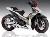 Modifikasi Honda Revo