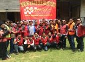Pelantikan Anggota Baru KaFC di Sawarna 2015